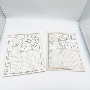 Rosicrucian Fellowship USA Horoscope Data Sheets
